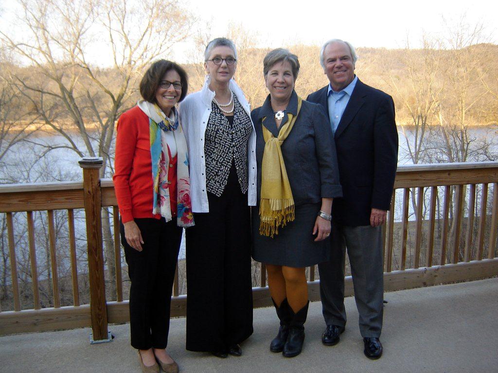 Mary Dickey, Leah Culver, Craig Culver